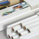 Прокладка провода без штробления